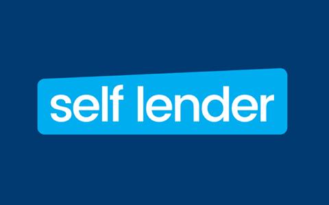 The self lender logo in a blue box
