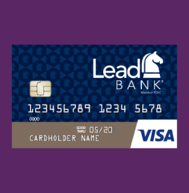 Lead Bank credit card