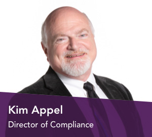 Kim Appel, Lead Bank in Kansas City's director of compliance